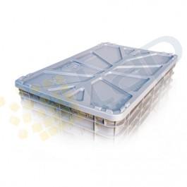 Couvercle pour caisse plastique