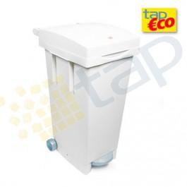 Contenedor 80 litros blanco