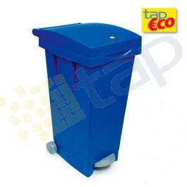 Contenedor 80 litros azul