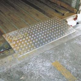 Placa de carga amovible 2 toneladas 600x1500 mm