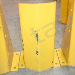 sabots de protection d'occasion pour rayonnages industriels