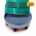 Base rodante para soporte para bolsas 110 L