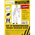 Kit de intervención riesgos químicos elevados