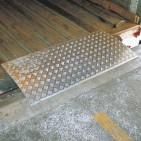 Placa de carga amovible 2 toneladas 600x1000 mm