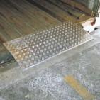 Placa de carga amovible 2 toneladas 600x2000 mm