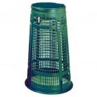 Soporte para bolsas verde 110 litros sin tapa