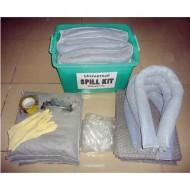 Kit de intervención 125 litros absorbente universal gris