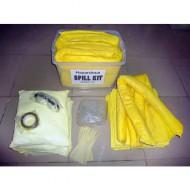 Kit de intervención 125 litros absorbente para productos químicos