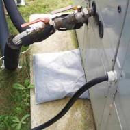 10 cojines absorbentes para hidrocarburos 40x50 cm