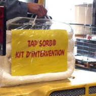 Kit de absorbentes para hidrocarburos 25 litros