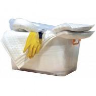 Kit de intervención 75 litros para productos químicos
