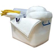 Kit de intervención 90 litros para productos químicos