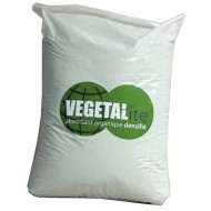 Absorbente vegetal densificado