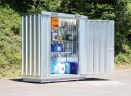Securitainer de almacenamiento no aislado 2 m²