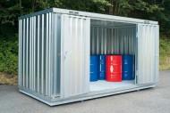 Securitainer de almacenamiento no aislado 10 m²