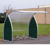 Estructura cubierta para 6 bicicletas - Elemento de base