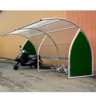 Estructura cubierta para 6 bicicletas - Elemento adicional