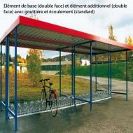 Estructura cubierta industrial multiusos - Elemento de base - Cara doble