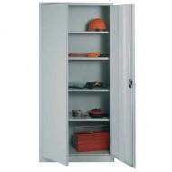 Armoire haute portes battantes monobloc