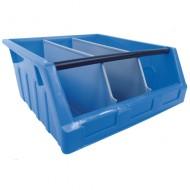 Cubeta con apertura Kangourou con separadores de 40 litros