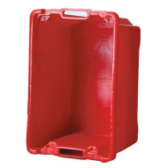 Bac Multi-usages 40 Litres rouge FP/CP