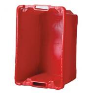 Cubeta multiusos 50 litros roja
