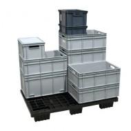 Cubeta de plástico 600x400x120 mm