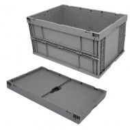 Cubeta de plástico plegable 60 litros