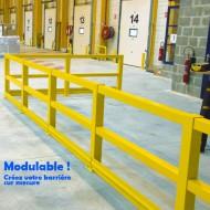 Barrera de protección flexible - Kit adicional recto 1000 mm