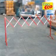 Barrera extensible de acero - Longitud desplegada: 3 m