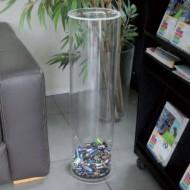 Colector 50 litros para la recogida de pilas