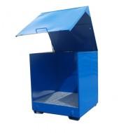 Caseta de almacenamiento 4 bidones con laterales lisos