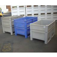 Caja paleta gris 650 litros