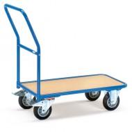Carro de tienda con plataforma 1000x700 mm