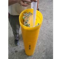 Colector de neones, altura: 1265 mm