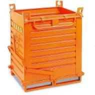 Contenedor con fondo abatible 2 paneles 800 L