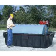 Cuva de almacenamiento de PEAD para cisterna - 4164 L
