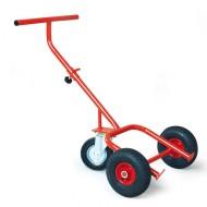 Carro para bidones 3 ruedas