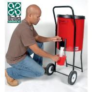 Distribuidor de absorbente sobre ruedas