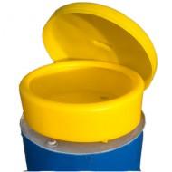 Embudo polivalente de PEAD para bidones con tapa