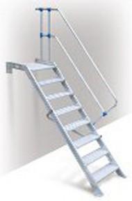 Escalera 45° 4 escalones