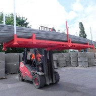Manurack para cargas largas (modelo de base)