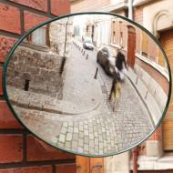 Espejo de seguridad ovale Ø : 560 mm