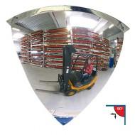 Espejo de vigilancia 90° Ø 100 cm