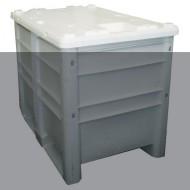 Opción tapa para caja de plástico