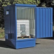 Opción pintura azul para casetas de almacenamiento 57010
