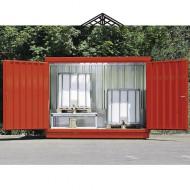 Opción pintura roja para casetas de almacenamiento 57012