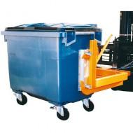 Barra de carga para contenedor para residuos 1000 litros