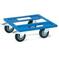 Plataforma calada con ruedas