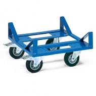 Plataforma con ruedas para objetos largos o redondos